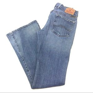 Lucky Brand Dungarees Flate wide leg jeans 2 /26